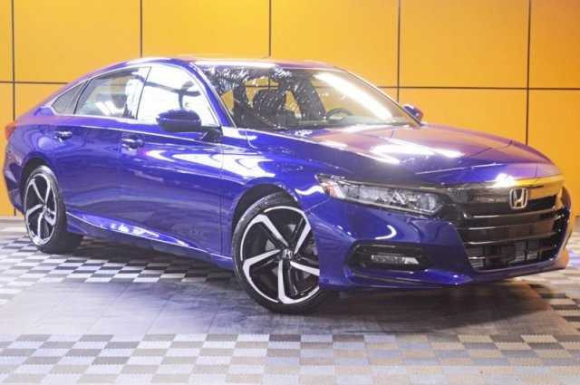 Pre-Owned 2019 Honda Accord Sedan Sport 2.0T