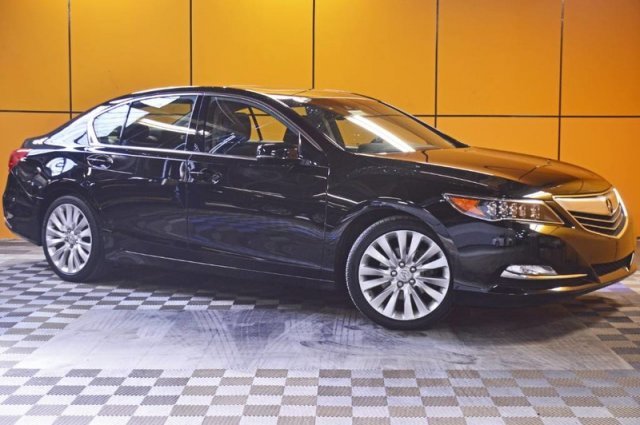 Certified Pre-Owned 2015 Acura RLX Tech Pkg
