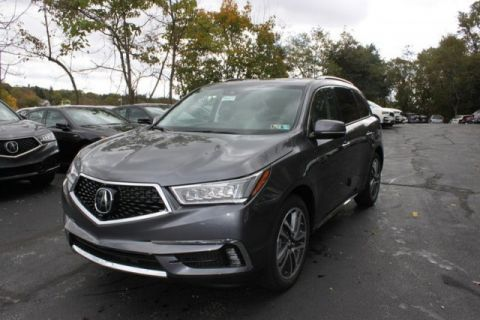 New 2018 Acura MDX SH-AWD with Advance and Entertainment Packages